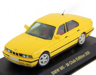 BMW M5 E34, M Club Edition, yellow