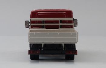 ГАЗель NEXT A22R23 бортовой, бордовый / серый