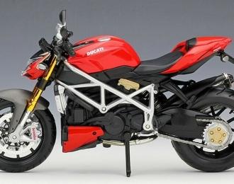 Мотоцикл Ducati Streetfighter S (красно-черный)