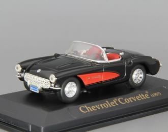 CHEVROLET Corvette (1957), black