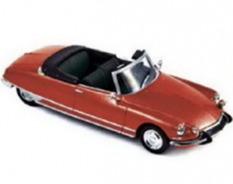 CITROËN DS19 Cabriolet 1965 Corail Red