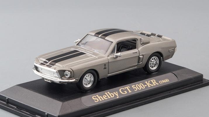 SHELBY GT 500-KR (1968), grey