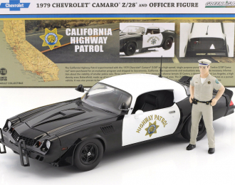 "CHEVROLET Camaro Z28 ""California Highway Patrol"" c фигуркой полицейского 1979"