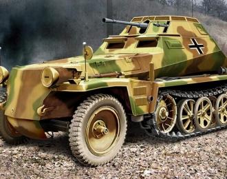 Сборная модель Sd.Kfz 250/9 Немецкий легкий бронетранспортер