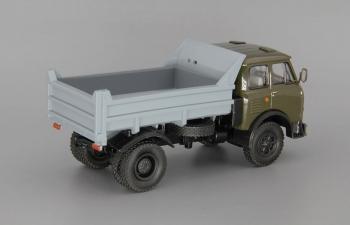МАЗ 503А самосвал (1975), коричневый / серый