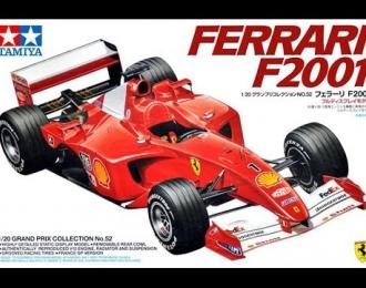 Сборная модель Ferrari F2001