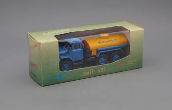 ZIL 131 цистерна Молоко, желтый / голубой