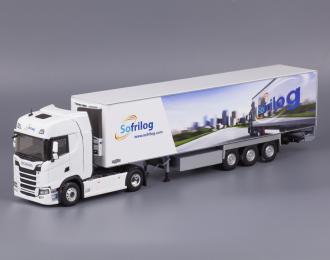Scania S500 c полуприцепом-рефрижератором 2020