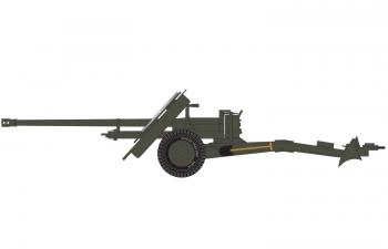 Сборная модель Британское 17-фунтовое противотанковое орудие