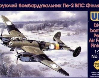 Сборная модель Пикирующий бомбардировщик Пе-2 ВВС Финляндии