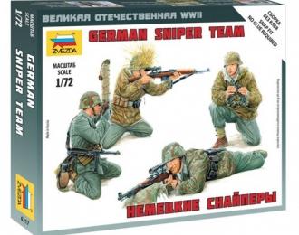 Сборная модель Фигуры Немецкие снайперы