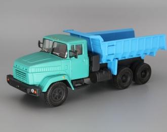 КРАЗ 6510 Самосвал, синий / зеленый