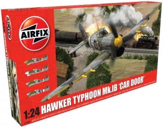 """Сборная модель Британский истребитель Hawker Typhoon Mk.Ib """"Car Door"""""""