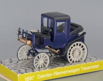 DAIMLER Riemenwagen Taxameter (1897), blue