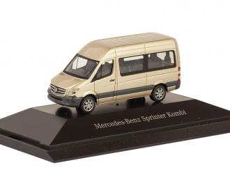 Mercedes-Benz Sprinter микроавтобус бежевый металлик