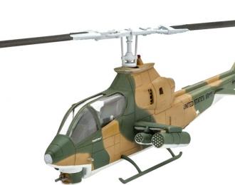 Сборная модель Американский ударный вертолёт Bell AH-1G Cobra