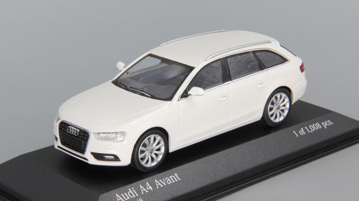 AUDI A4 Avant (2011), white