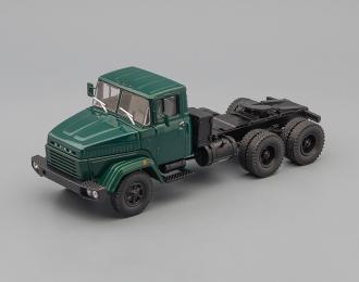 КРАЗ 6444 седельный тягач (1985-1994), зелёный