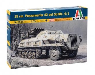 Сборная модель Немецкий миномет 15 cm. PANZERWERFER 42 Sd.Kfz. 4/1