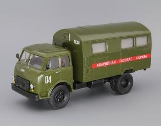 МАЗ-500А КУНГ Аварийная газовая служба, темно-зеленый