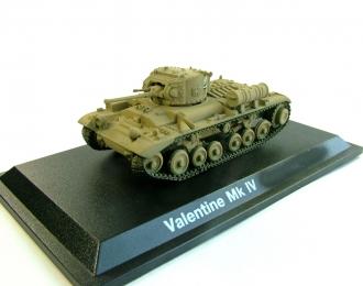 """Британский пехотный танк """"Valentine"""", Танки Мира Коллекция 11"""