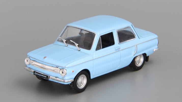 ЗАЗ 966 Запорожец, Автолегенды СССР 36, голубой