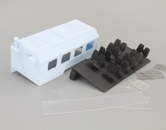 Надстройка КУНГ для спецавтомобиля ОМОН ВМ-43114 на базе Камский грузовик