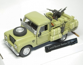LAND ROVER Series III 109 Military, green