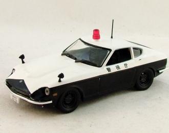 DATSUN Fairlady 240 Z Tokyo Police, Полицейские Машины Мира 5, черно-белый