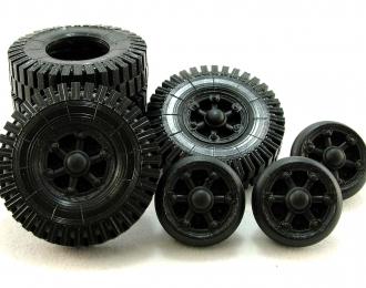 Резина, диски для МАЗ 502, компл. из 5 колёс