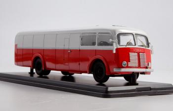 SKODA М706RO фургон, красный / белый