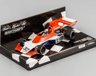 TYRRELL Ford 007 Ian Scheckter (1975), orange / white