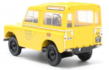 "LAND ROVER Series II SWB Hard Top ""Post Office Telephones"" 1960 Yellow"