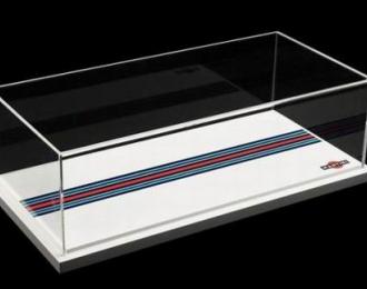 Дисплей бокс Martini Racing (внутренний размер 32,5*15,5*9,5)