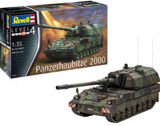 Сборная модель Немецкая САУ Panzerhaubitze 2000