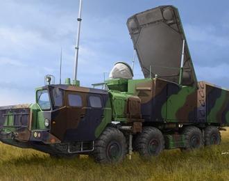 Автомобиль Russian 30N6E Flaplid Radar System