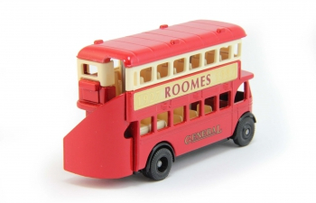ROOMES General (1927-1997), red / cream