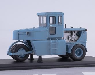 Пневмоколесный каток Д-365, серо-голубой