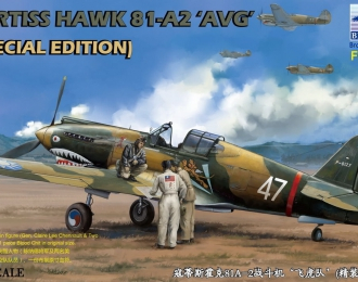 "Сборная модель CURTISS HAWK 81-A2 ""AVG"" (Speical Edition)"