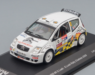 CITROEN C2 S1600 #0 S. Loeb Rally Chablais (2009), white