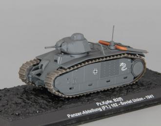 Pz.Kpfw. B2(f), Panzer-Abteilung (F1.) 102, Soviet Union 1941