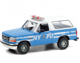 """FORD Bronco """"New York City Police Department"""" (NYPD) 1992"""
