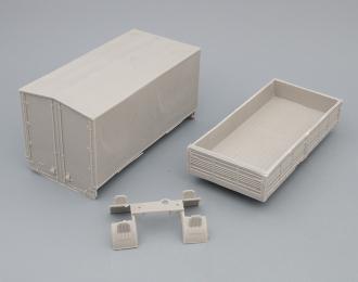 Набор для конверсии Кузов с тентом для МАЗ-5337