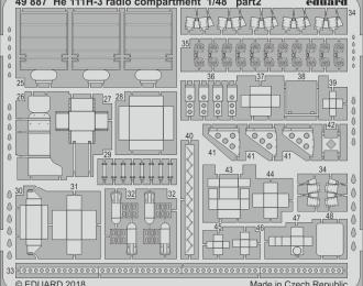 Фототравление для модели He 111H-3 radio compartment