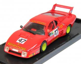 FERRARI 512 BB Ch.Pozzi-Francia Le Mans #47 (1981), red