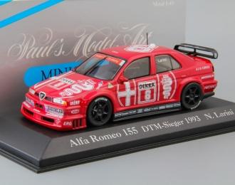 ALFA ROMEO 155 V6 TI DTM N. Larini #8 (1993), dark red