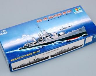Сборная модель Американский эсминец USS THE SULLIVANS DD-537