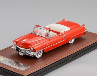 CADILLAC Series 62 Convertible открытый (1956), red