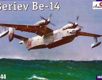 Сборная модель Советский противолодочный самолет-амфибия Бе-14
