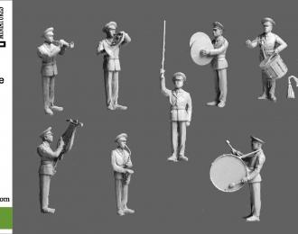 Сборная модель Парад Военный оркестр. Часть 1